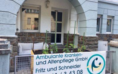 Urban Gardening bei der Ambulanten Kranken- und Altenpflege Koblenz